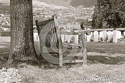 Cemtery bench