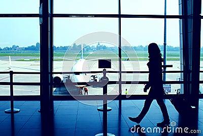 Cena do aeroporto