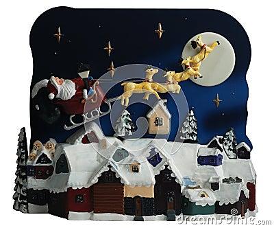 Foto de Stock: Cena do brinquedo do Natal. Imagem: 7469030