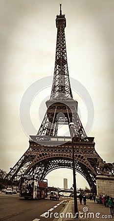 Cena parisiense da rua Imagem de Stock Editorial