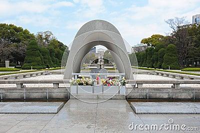 Cenotaph in Hiroshima