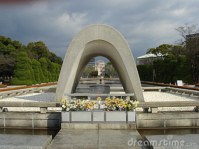 Cenotaph at Hiroshima