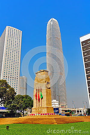 The cenotaph hong kong Editorial Stock Photo