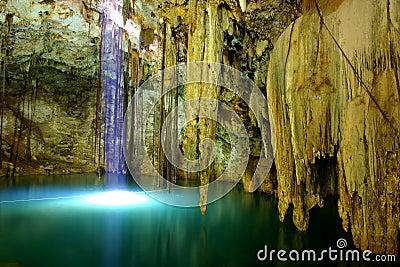 Cenote of dzitnup