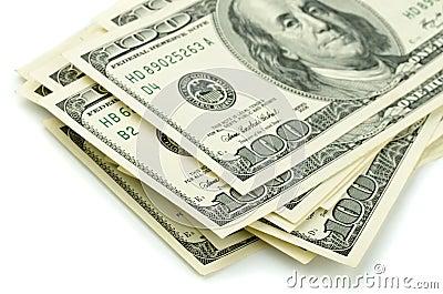 Cent billets d un dollar