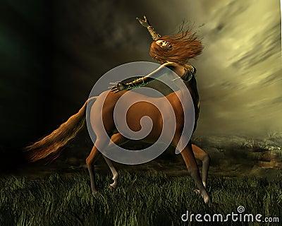 Centaur in the Storm