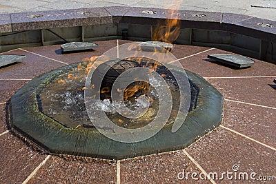 Centennial Flame on Parliament Hill