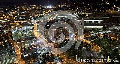 Centennial Olympic Park Area of Atlanta, Georgia Editorial Stock Image