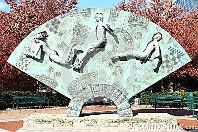 Centennial Olympic Park - Atlanta Editorial Stock Image