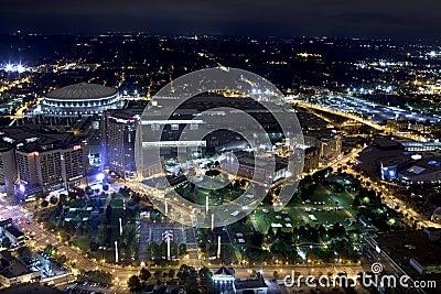 Centennial Olympic Park - Atlanta, Georgia Editorial Photography