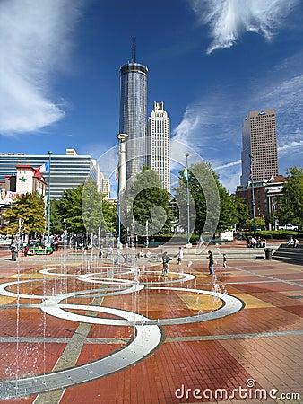 Centennial Park Editorial Image