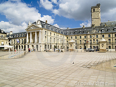 Center of Dijon - France