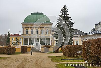Center of Frantiskovy Lazne, Czech Republic