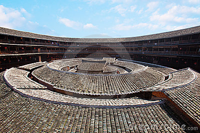 The center of Hakka earth building 6