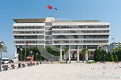 Center of Konak, Izmir province of Turkey Editorial Stock Photo