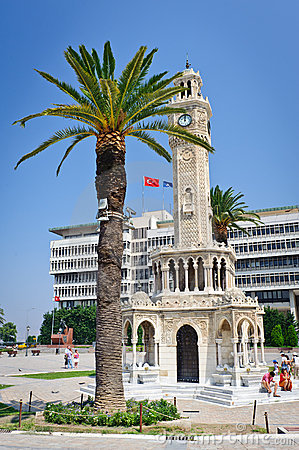 Center of Konak, Izmir province of Turkey Editorial Photography