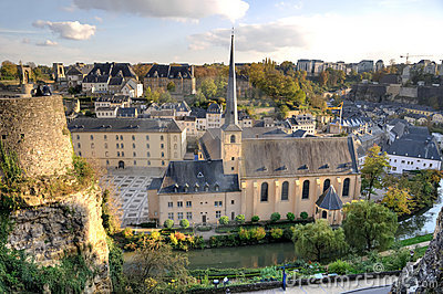 Center of Luxembourg