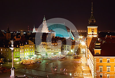 Center of Warsaw