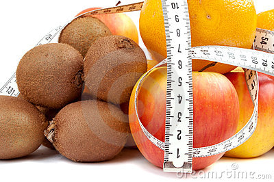 Centimeter and fruits