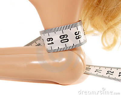 Centimeter and waist dolls