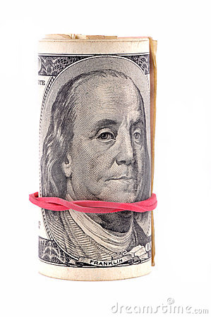 Cento dollari di banconote