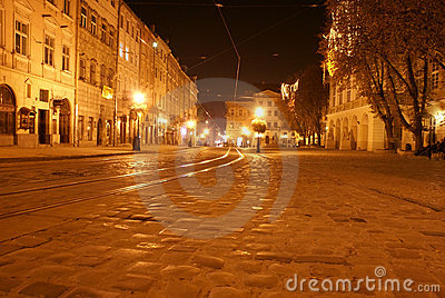 Central area of Lvov