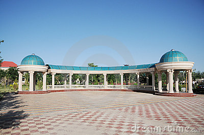 Central Asian building