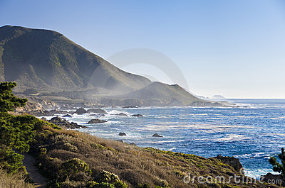 Central Coast, Big Sur, Monterey, California Stock Images - Image: 22848144