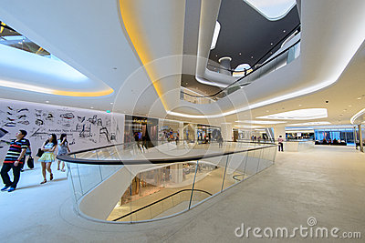 Central Embassy It is a shopping complex, owned Central Pattana Editorial Stock Photo
