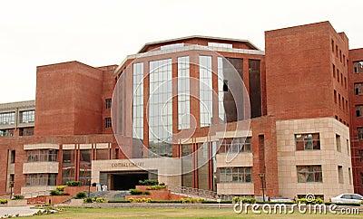Central Library Amity University, Noida Editorial Stock Image