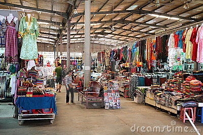 Central Market, Cambodia Editorial Stock Photo