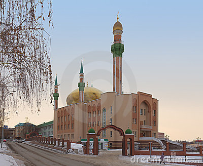 Central Mosque named by R.G. Galeev. Almetyevsk