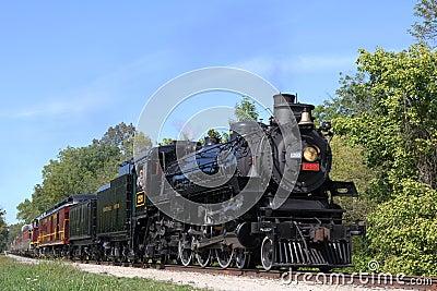 Central Ohio Railroad Editorial Stock Image