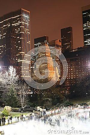 Free Central Park And Manhattan Skyline, New York City Royalty Free Stock Photos - 1742188