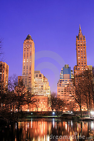 Free Central Park And Manhattan Skyline, New York City Royalty Free Stock Photo - 1927595