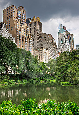 Free Central Park And New York City Royalty Free Stock Photos - 6541288