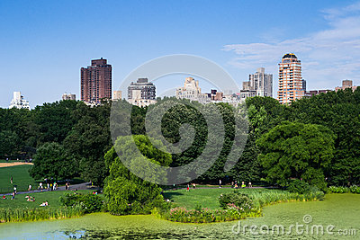 Central park Editorial Stock Image