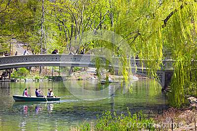 Central Park NYC Editorial Stock Image