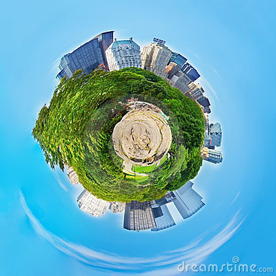 Central Park Planet (New York) Editorial Photo