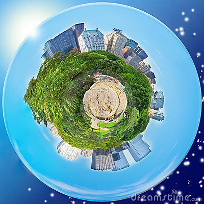 Central Park Planet (New York) Editorial Stock Photo