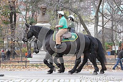 Central Park police Editorial Photo