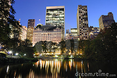 Central Park at Twilight