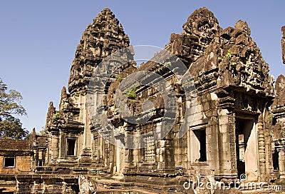 Central Prasat, Banteay Samre Temple, Angkor, Camb
