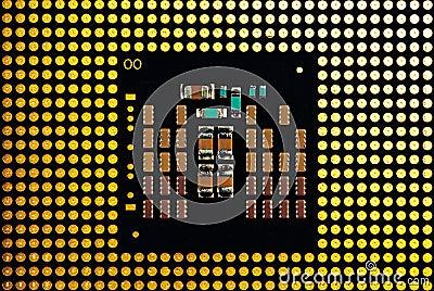 Central processor close up