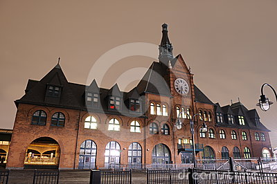 Central Railroad Terminal of New Jersey Editorial Photography