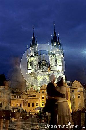 Central Square- Prague, Czech Republic