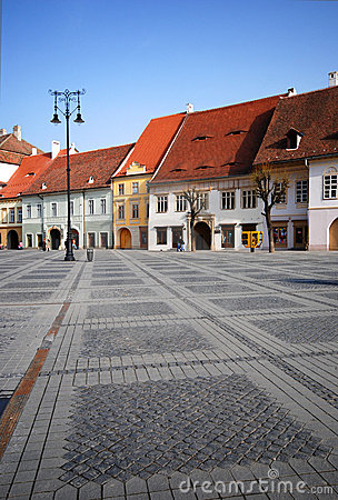 Free Central Square, Sibiu Royalty Free Stock Images - 2322709