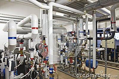 Centrale d échangeur de chaleur