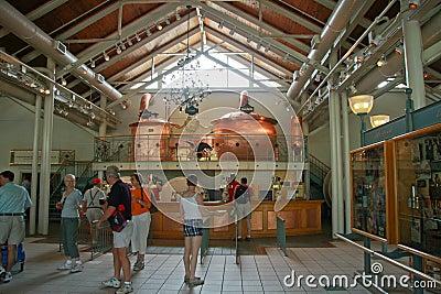 Centre d hospitalité de SeaWorld Busch Image éditorial