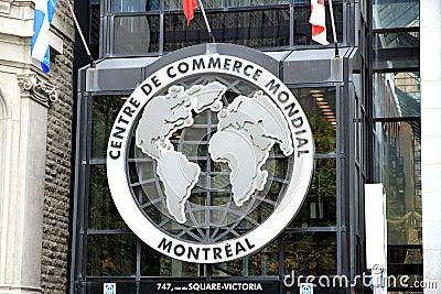 Centre de Commerce Mondial Editorial Stock Photo